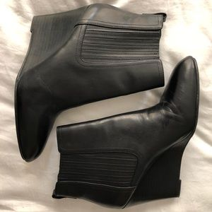 Sam Edelman Gillian Pointed Toe Leather Bootie